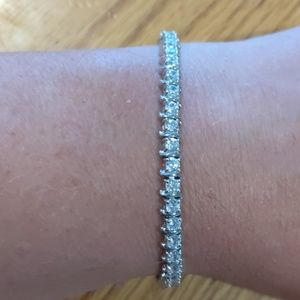 Jewelry - Sterling silver CZ tennis bracelet